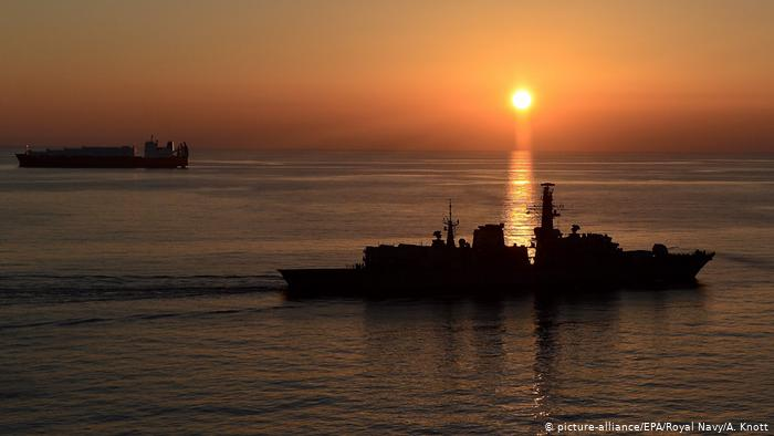 Iranian News Agency Publishes Video of Detained UK Tanker in Strait of Hormuz