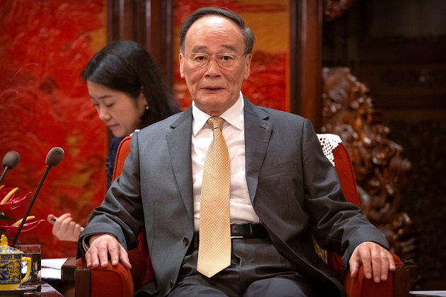 Chinese vice president meets Malaysia's deputy PM