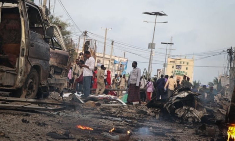 Mayor of Mogadishu, officials injured in suicide attack on