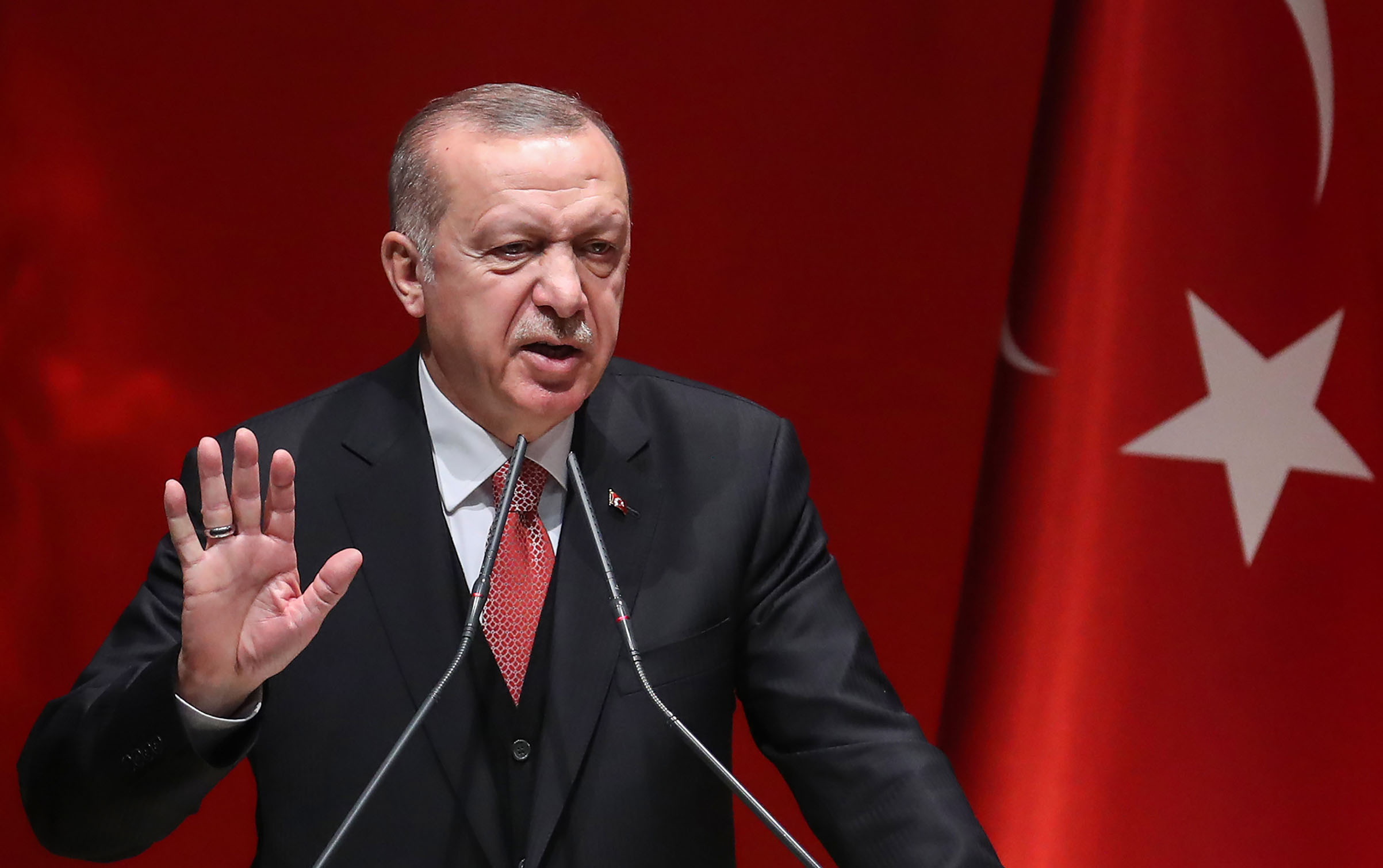 Turkey's Erdogan Meets With Malaysian Prime Minister