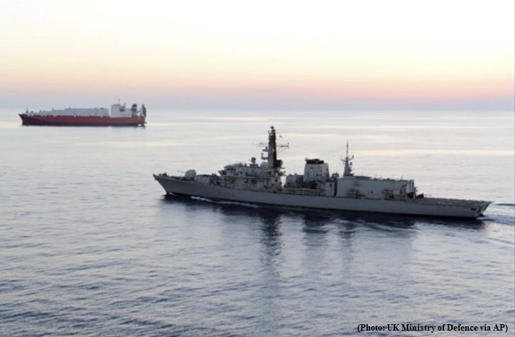 UK tanker's detention by Iran may serve as pretext for use of force