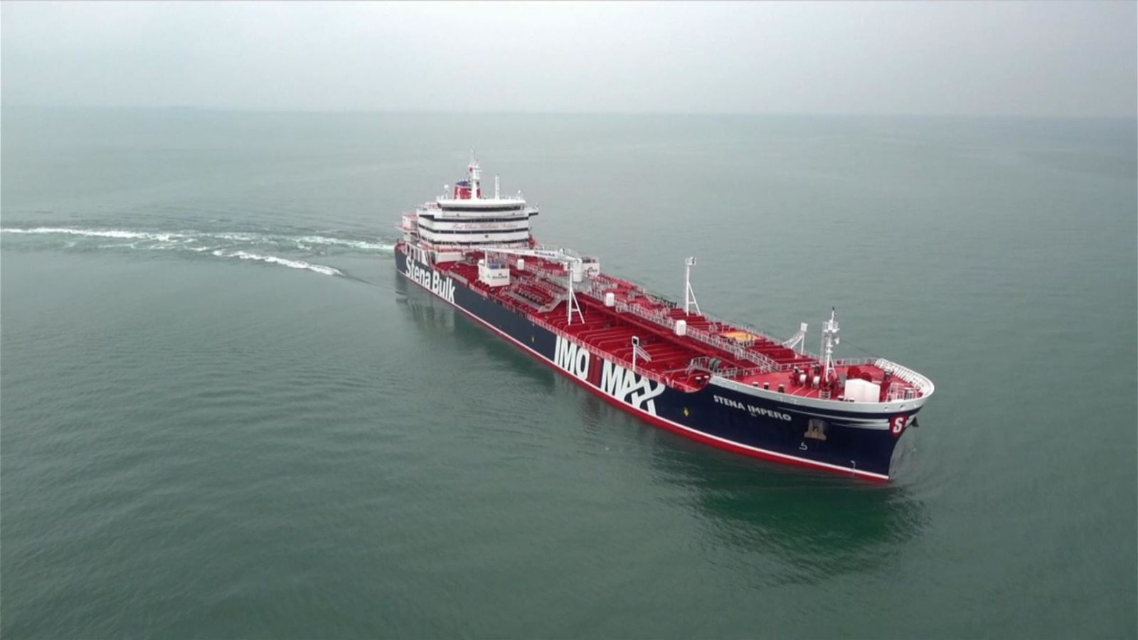British Oil Tanker Stena Impero Detained by Iran, Taken to Port of Bandar Abbas