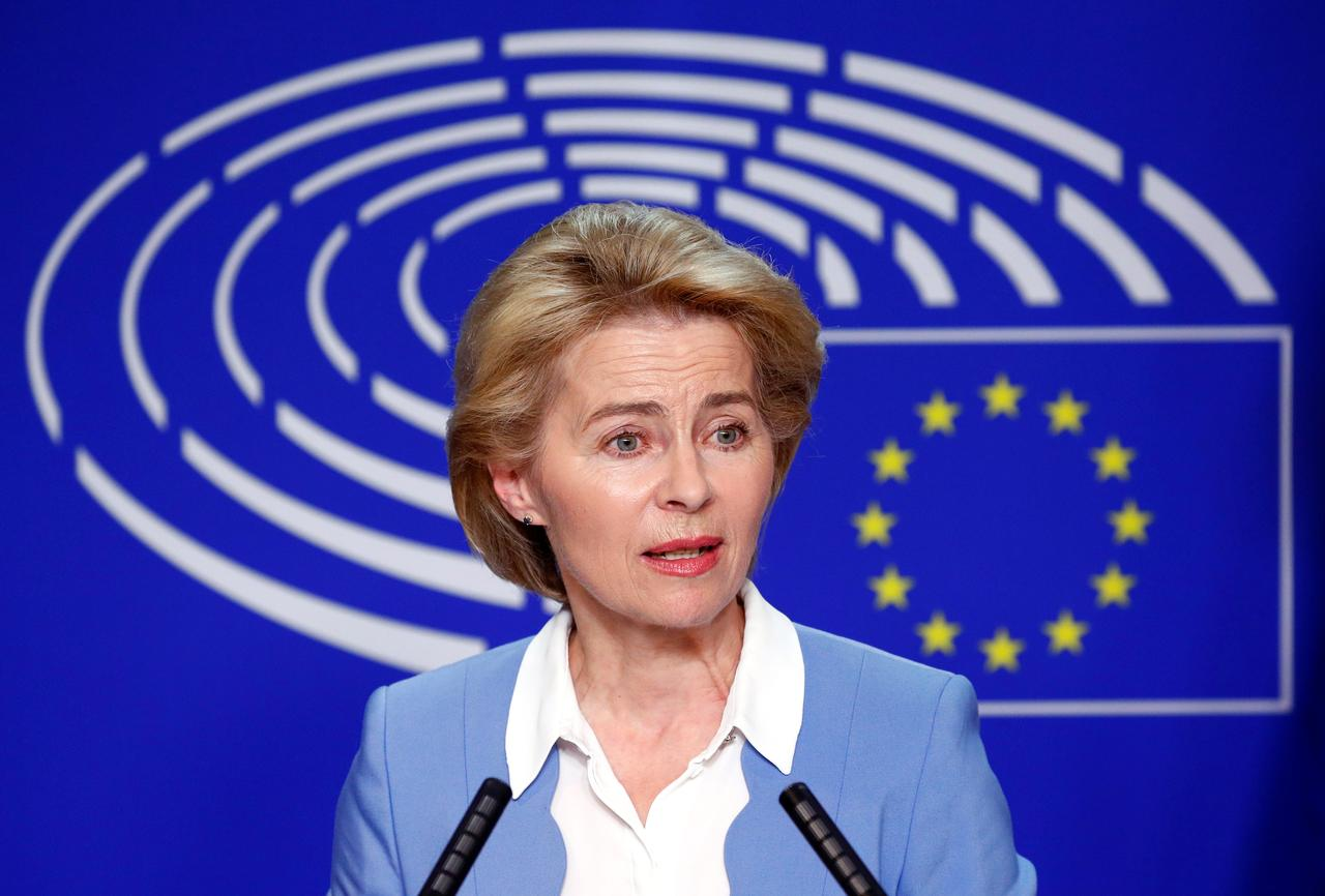 Germany's SPD says in damning paper to EU peers von der Leyen is 'inappropriate' for Commission