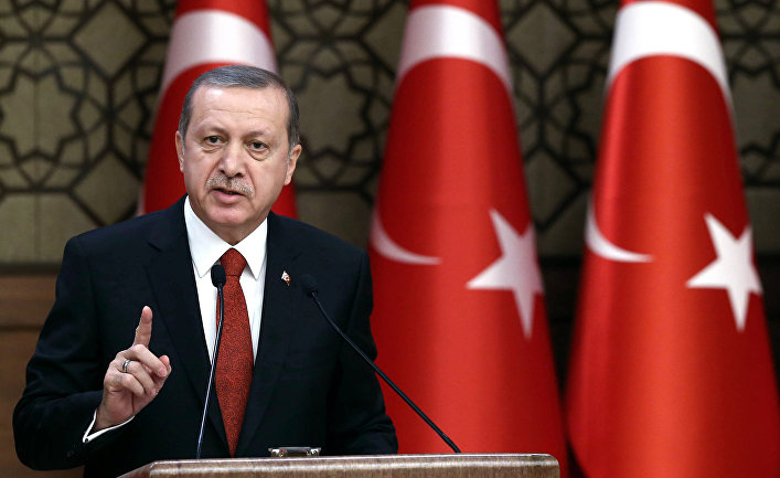 Erdogan Vows US Cannot Prevent Creation of Buffer Zone in Syria