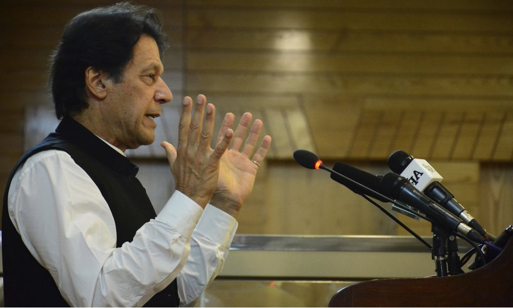 Pakistan's PM once again questions world community's silence on Kashmir