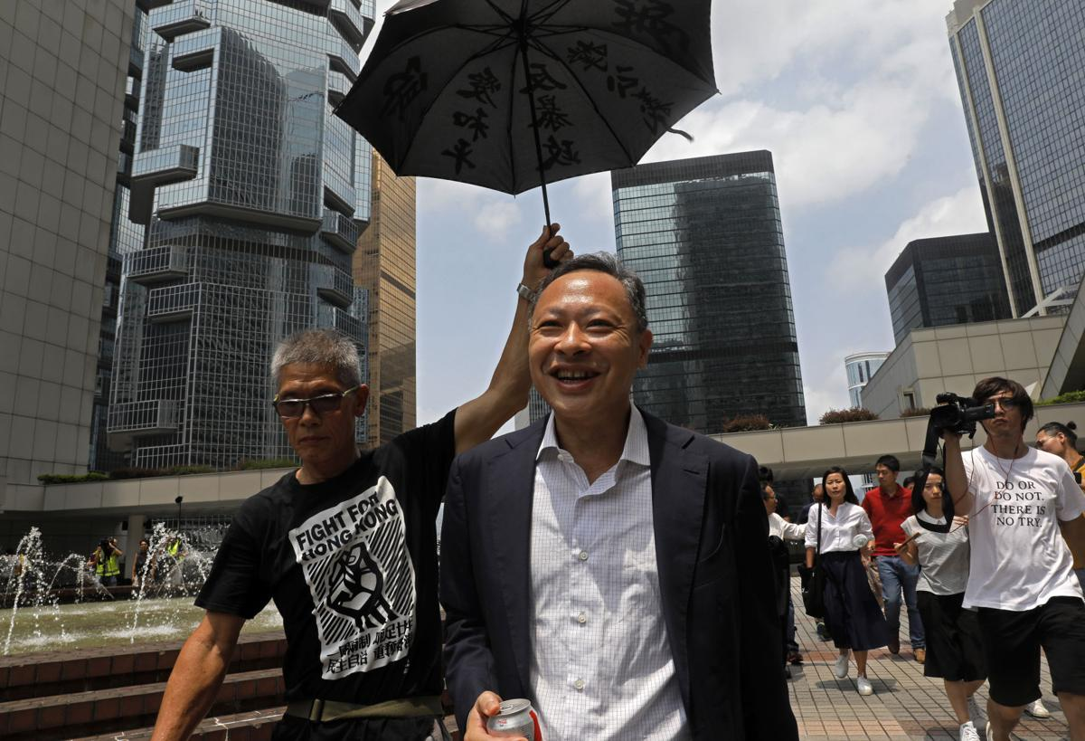 China ambassador to UK issues warning over protest movement