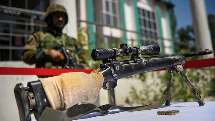 Indian Army Seizes US-Made Sniper Rifles From Kashmir Militants