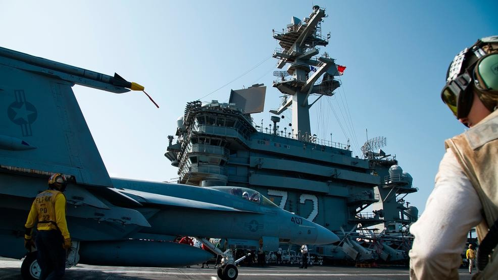 US Aircraft Carrier Deployed to 'Deter' Iran Stays 600 Miles Away From Strait of Hormuz