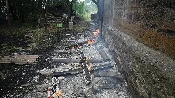 Since the beginning of the conflict, over 900 fires have occurred in the DPR due to shelling
