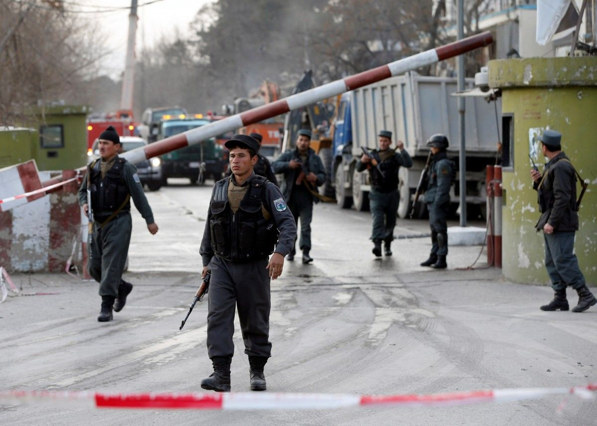 Taliban attack in Afghanistan kills five security forces