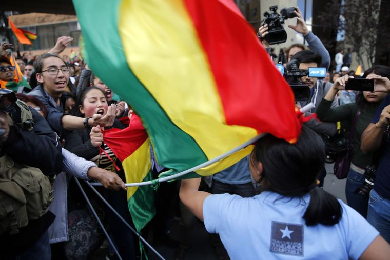 In Bolivia, demonstrations are taking place against the background of the counting of votes in elections