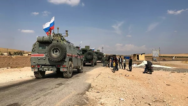 In Syria, fired at the border crossing, where there was a Russian military police