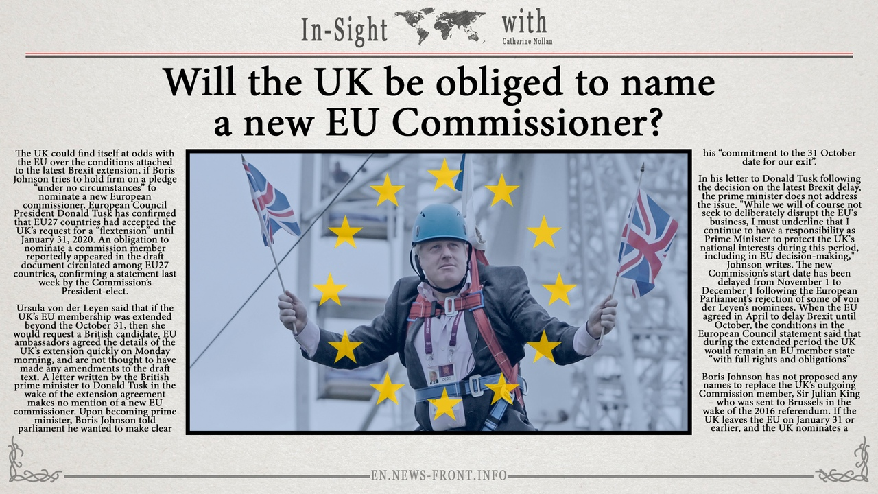 In-Sight: Will the UK be obliged to name the new EU Commissioner?