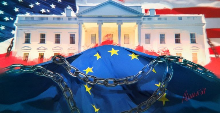 """Washington """"twisted"""" to the limit Russophobic campaign to suppress Europe"""