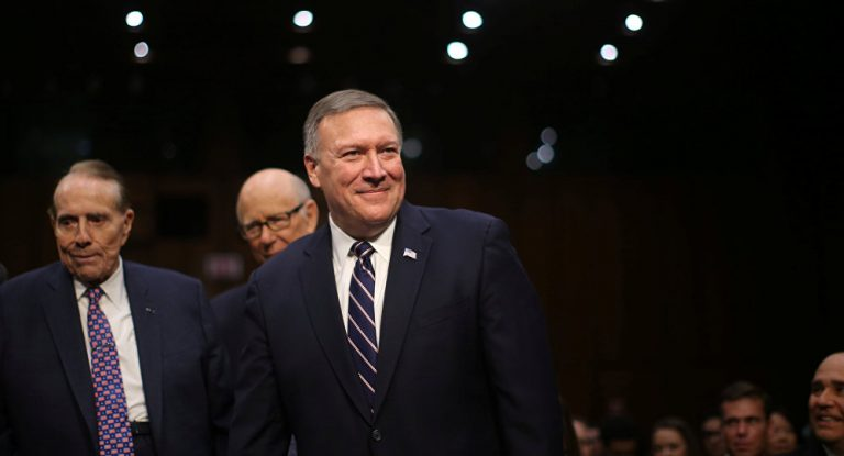 """Pompeo speaks about the American """"stability project"""" in Ukraine"""
