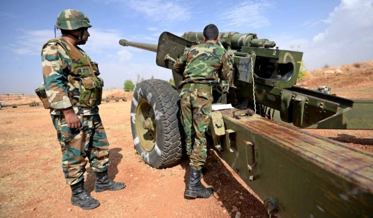 Syrian troops covered Idlib terrorists with artillery