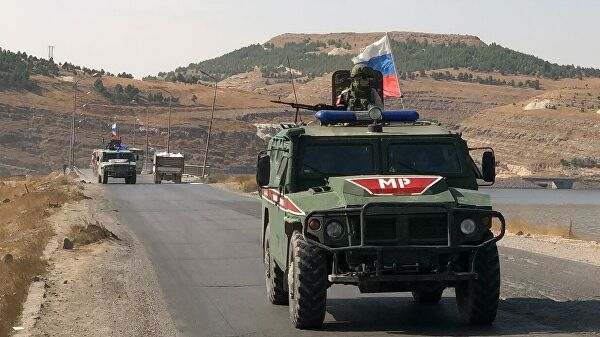 Ankara reported that the Russian Federation and Turkey are conducting a third patrol in northern Syria