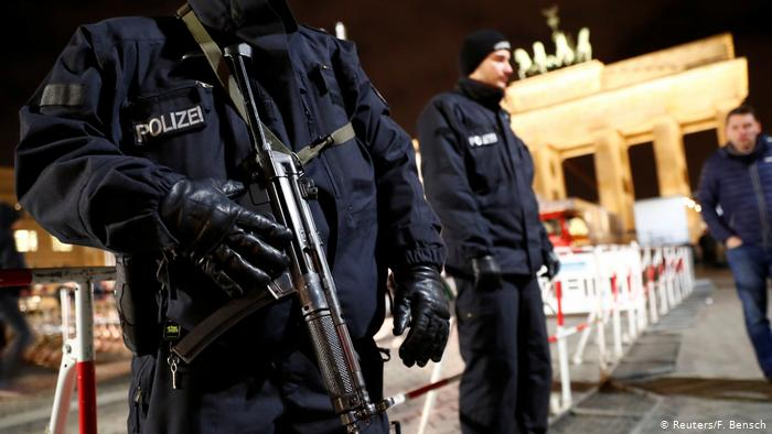 Radicals clash with the police in Berlin