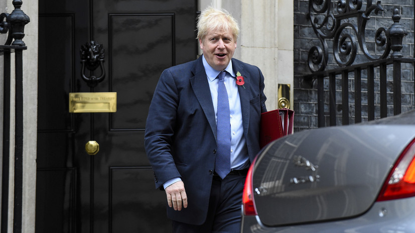 Johnson brings his apology for a long brexit