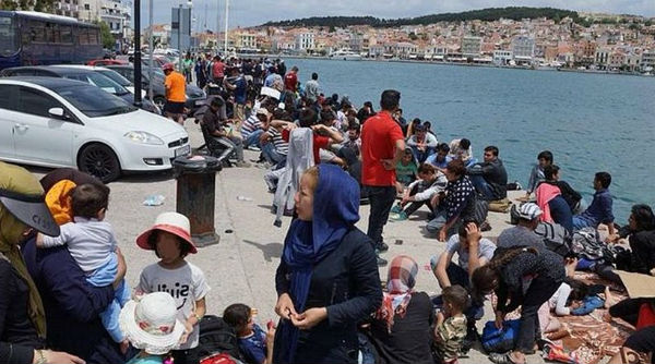 What is happening on the Greek-Turkish border?