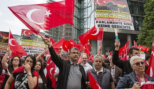 German Federal Interior Ministry: more than 6900 Turks are due to leave the country