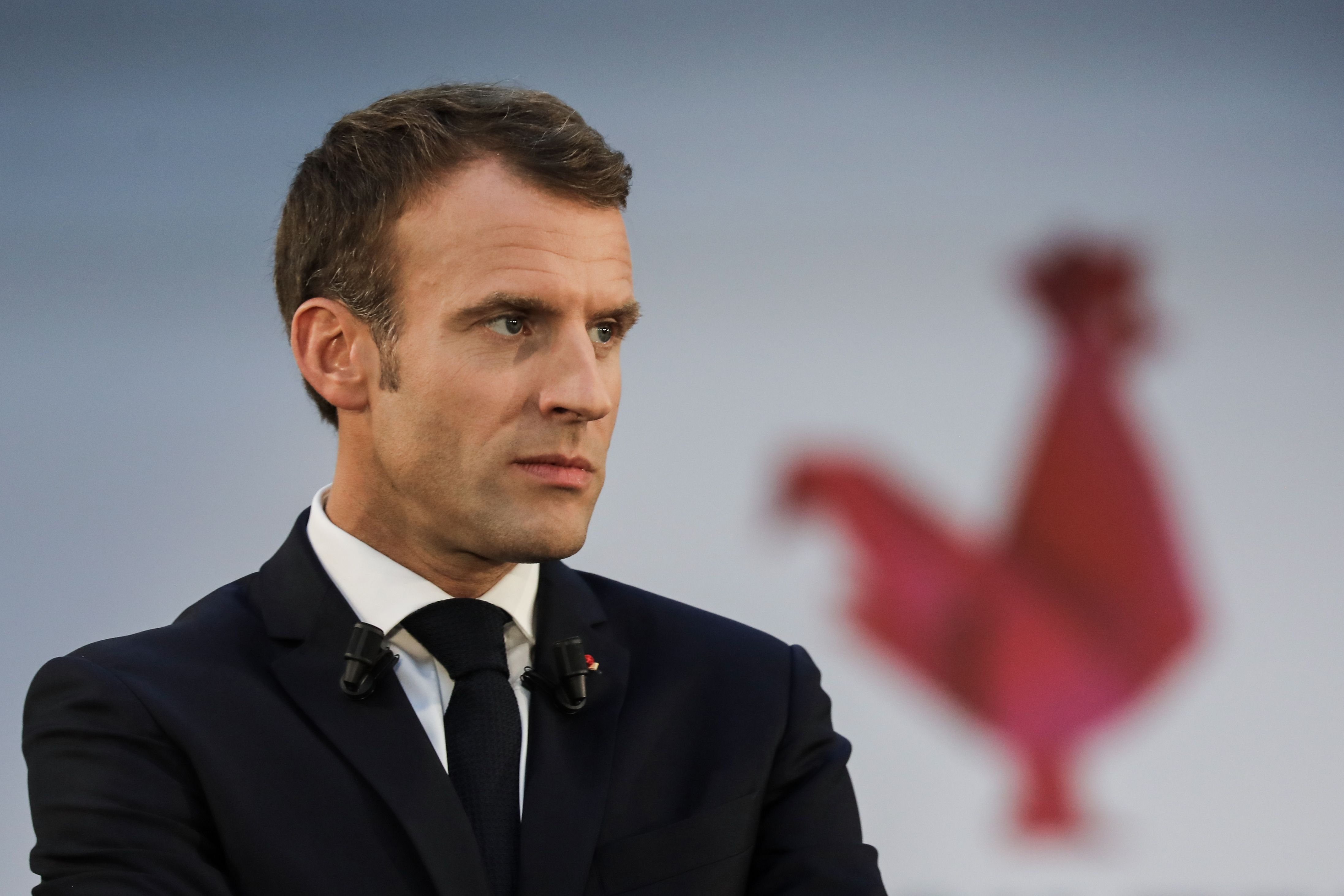 "Macron: ""NATO has a brain death"""