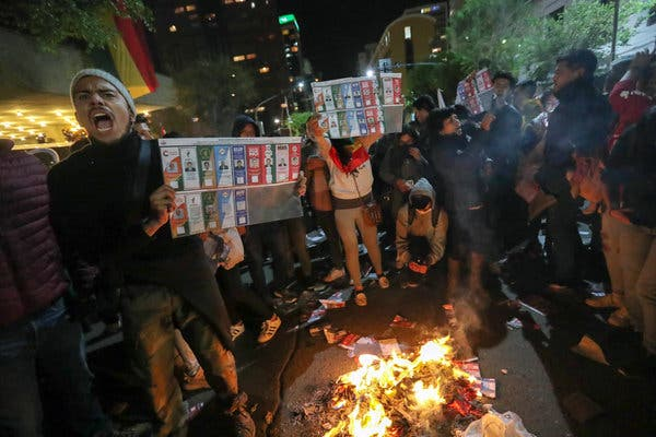Bolivian opposition captures state radio station and state-owned channel