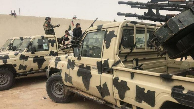 Libyan national army thins Turkish aircraft en route to Tripoli
