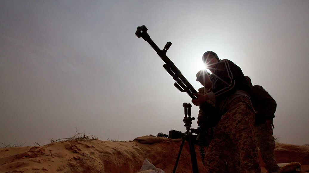 US fears military intervention from outside in Libyan conflict
