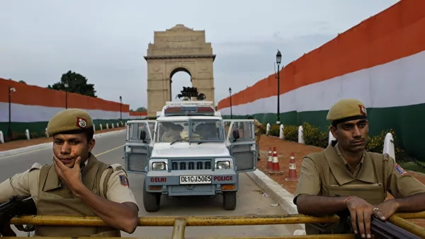 In New Delhi, the riots have increased security measures