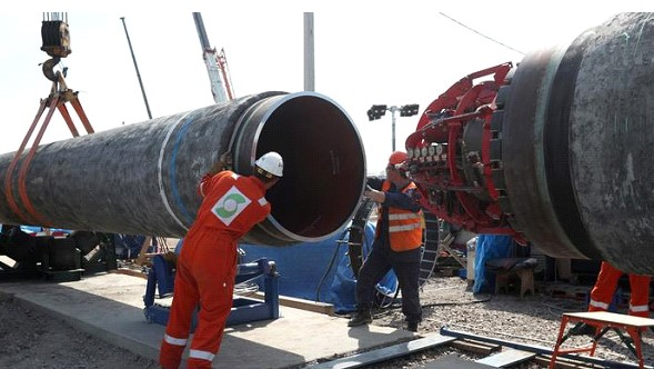 Nord Stream-2 pipeline will be constructed in winter and spring