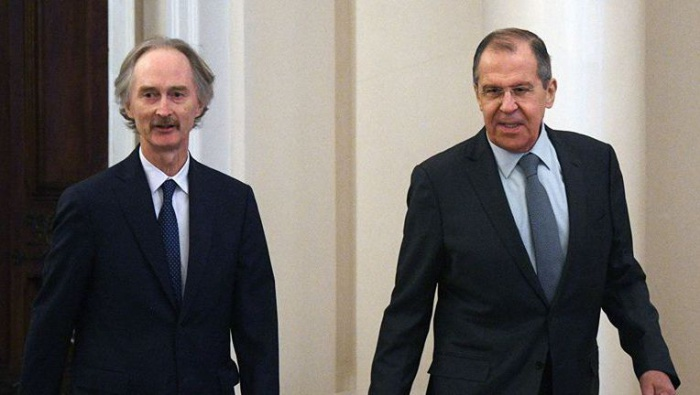 Russian Foreign Minister and UN Secretary General's Special Envoy for Syria to hold a meeting