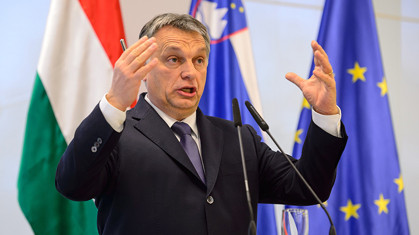 Enemy of the state: Viktor Orban accused Soros of organizing migration through the Balkans