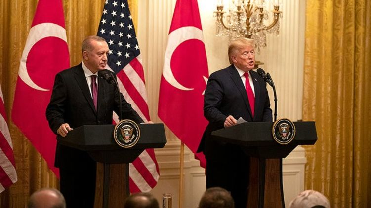 Trump discussed with Erdogan Libya, Syria and Iran