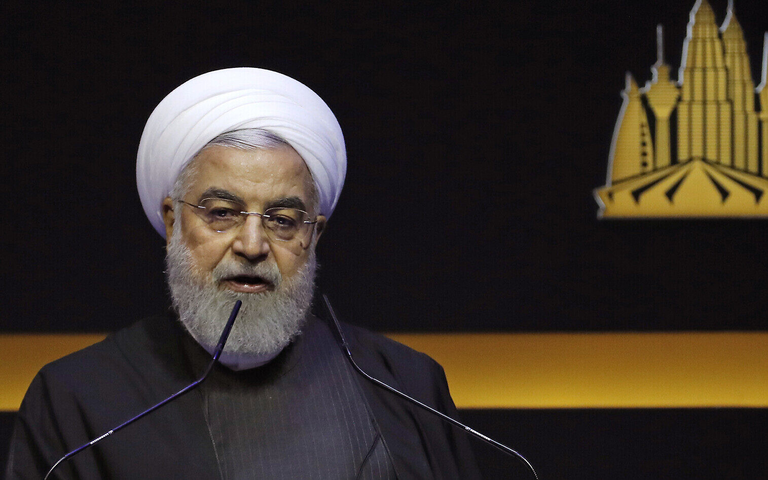 Rouhani called on London to adjust its position on Suleimani's death