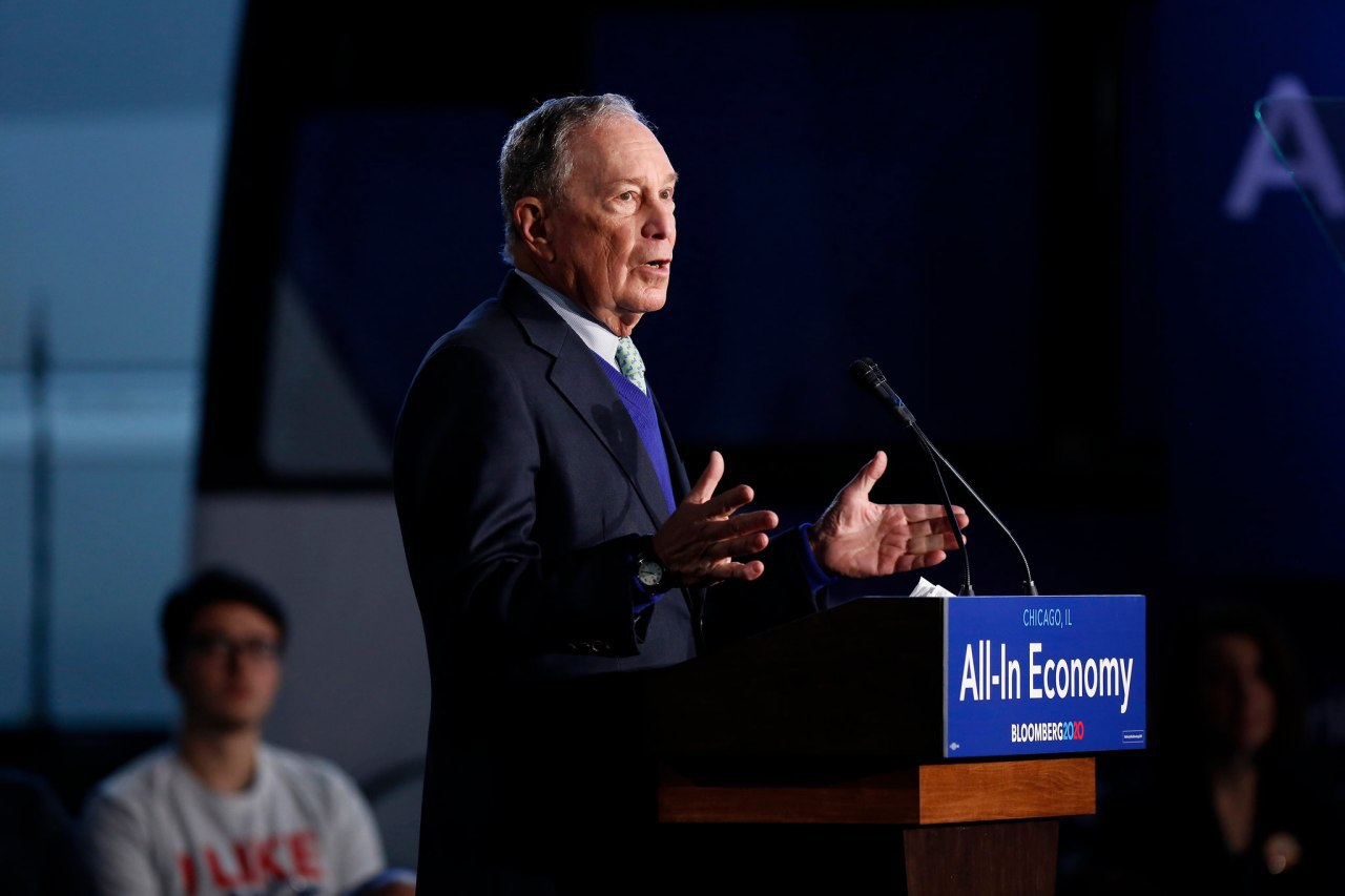 Bloomberg wants to spend $1 billion to defeat trump