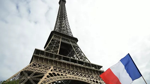 In Paris, the Eiffel Tower was closed to the public because of the strike