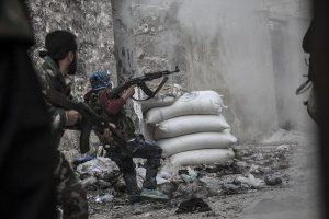 Fierce battles in Idlib right now: Syrian troops fighting off the Turkish army and militants