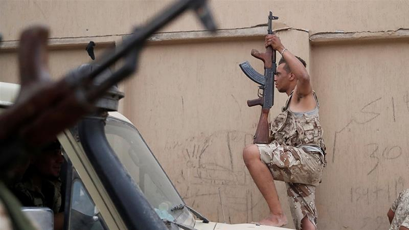 Europeans have been accused of smuggling weapons into Libya