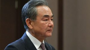 External forces are trying to maintain chaos in Hong Kong so as to influence the development of China as a whole, said Chinese Foreign Minister Wang I.