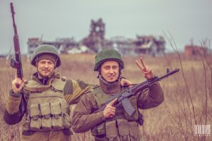 civil war in the Donbass