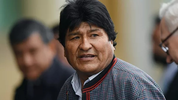 Former Bolivian Head of State Morales is registered as a candidate for the Senate
