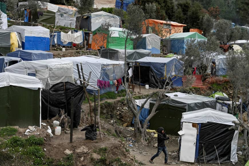Residents on the Greek island of Samos are afraid of a new influx of migrants