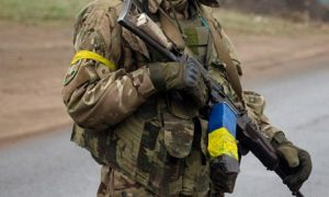 Ukrainian army shell Donbass people