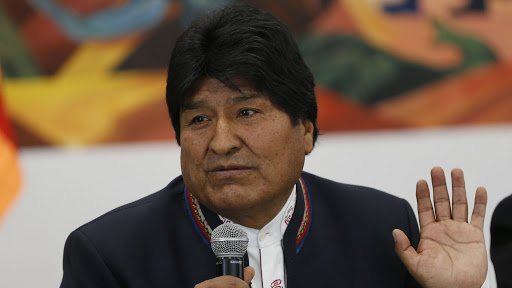 Evo Morales went from Argentina to Cuba