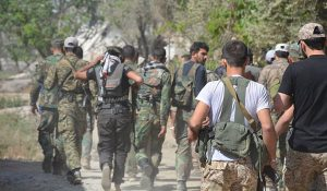 Clash between terrorists and SAA occurs in eastern Homs