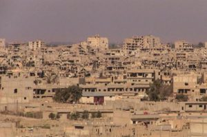 Syrian government agencies stop working due to the threat of coronavirus