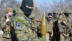 In Europe, a military intervention was being prepared on the territory of the DPR