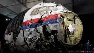 "In the case of MH17, an anonymous witness appeared who was hiding nearby and heard a ""Russian accent"""