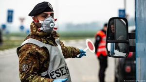 12 provinces quarantined in Italy